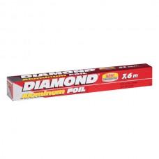 PAPEL ALUMINIO DIAMOND 25 PIES (7.62M X 30.4CM)