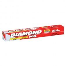 PAPEL ALUMINIO DIAMOND 75 PIES (22.8M X 30.4CM)