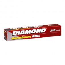 PAPEL ALUMINIO DIAMOND 200 PIES (60.9M X 30.4CM)