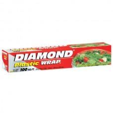 PAPEL PLASTICO DIAMOND 100 PIES (30.4M X 30.4CM)