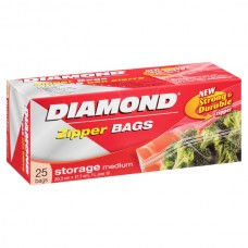 Bolsa Resellable Mediana para Guardar 25 Bolsas Diamond