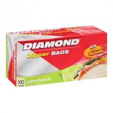 BOLSA DIAMOND SANDWICH RESELLABLE 100 UDS