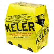 CERVEZA KELER 6 PACK BOTELLA 250 ML