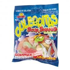 Gomitas Culebritas Trasparentes Guandy 125 gr