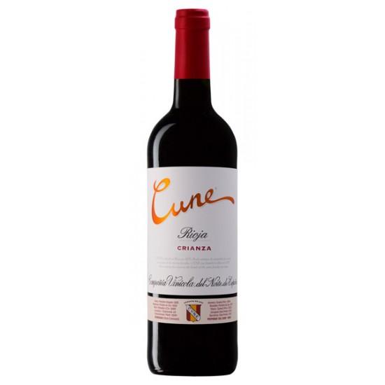Vino Cune Crianz Tinto Tempranillo DOC Rioja 375 ml