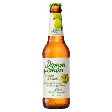 Cerveza Lager Lemon Damm Botella 330 ml