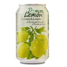 Cerveza Lager Lemon Damm Lata 330 ml
