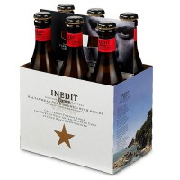 Cerveza de Trigo Inedit Damm Botella 6 Pack 330 ml