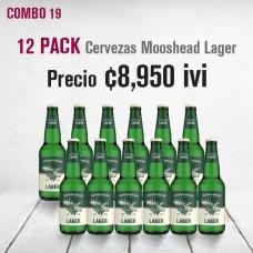 Combo cerveza Moosehead botella