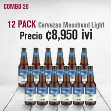 Combo cerveza Moosehead Light