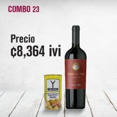 Combo Vino Santa Rita+aceituna Ybarra
