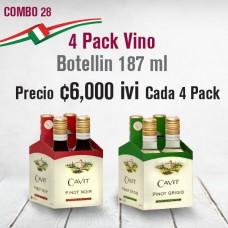 Combo 4 pack Vino Cavit
