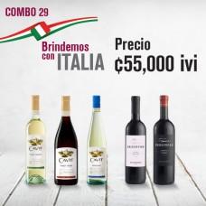 Combo Brindemos con Italia
