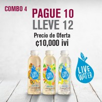 Combo Agua Live Water
